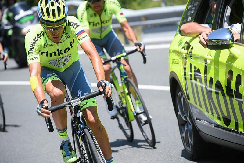 Tour de Francia 2016 - Etapa 9 - En queue de peloton - Alberto CONTADOR © PresseSportsB Papon