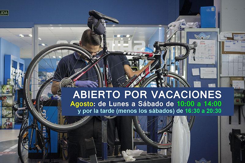 En agosto más ciclismo en EnBici Alcobendas - Todo para el ciclista desde los años 90