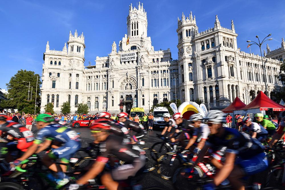 El pelotón en Madrid - Vuelta a España 2016 - Imagen de © Graham Watson