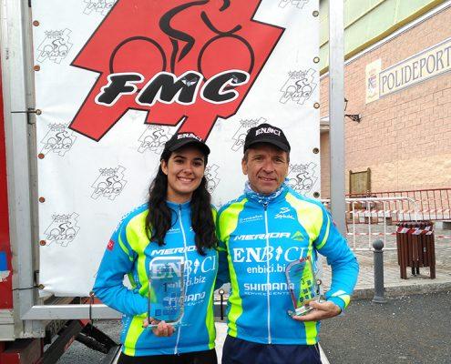 Copa de Madrid de Ciclocross - Cristina y Enrique EnBici