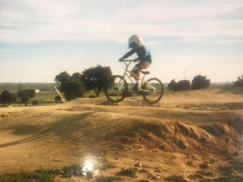 jose almagro inicios en bici