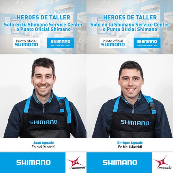 Taller Shimano los Héroes de Taller