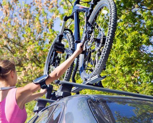 Cómo transportar la bicicleta