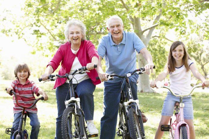 Abuelos en bicicleta - Blog EnBici