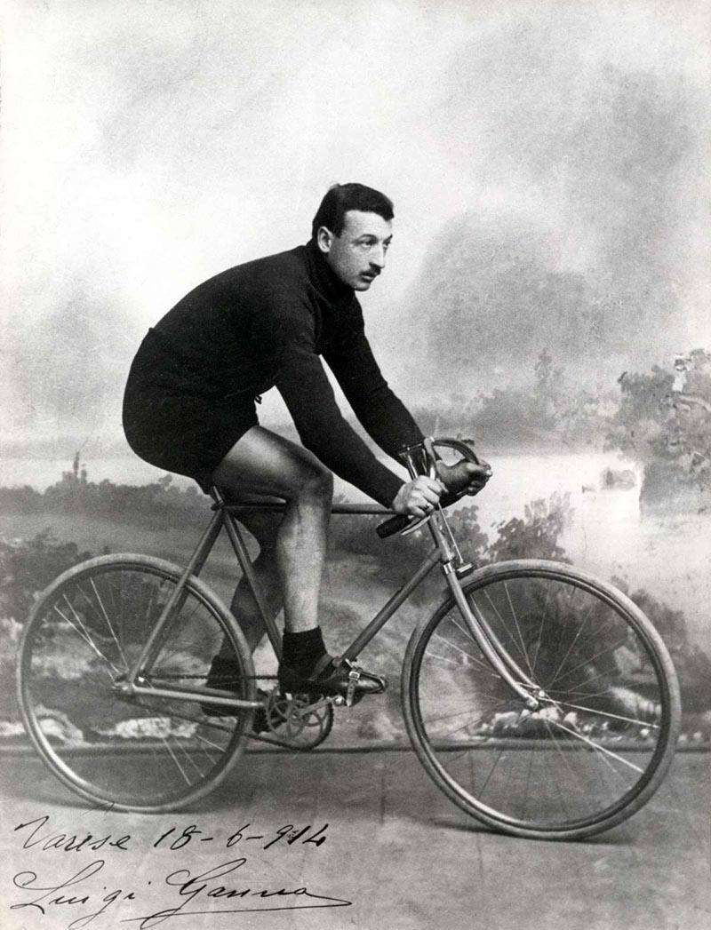 Luigi Ganna en 1914