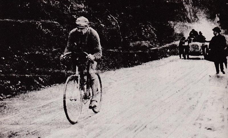 Luigi Ganna en 1909