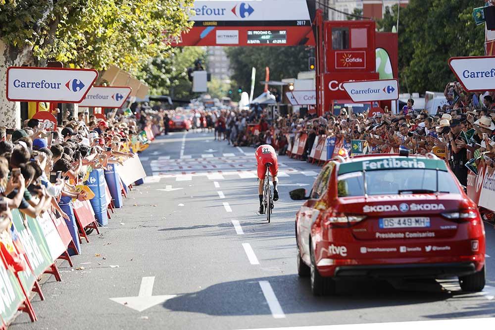 Chris Froome - Contrarreloj individual el líder - Logroño © Unipublic/Photogomez Sport