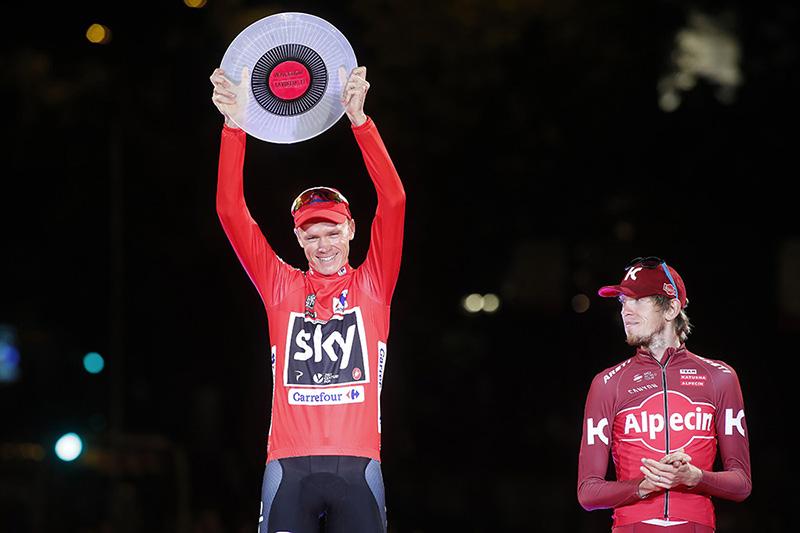 Chris Froome - Vuelta 2017