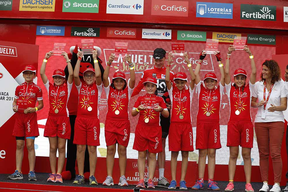 Chris Froome - La Vuelta Junior Cofidis © Unipublic/Photogomez Sport