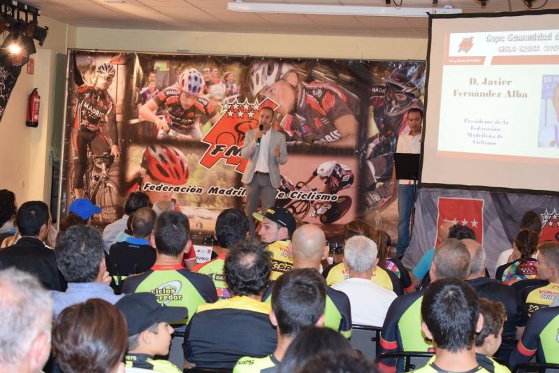 Presentación de la Temporada de Ciclocross 2018