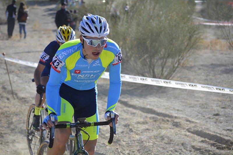 43 Victor Aguado EnBici - Ciclocross Boadilla del Monte 2017 - Imagen Carme Tomás