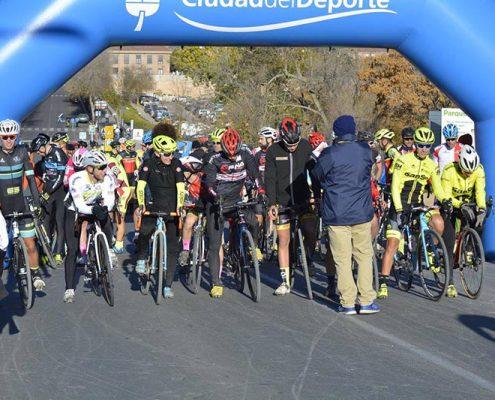 Salida - Ciclocross Boadilla del Monte 2017 - Imagen Carme Tomás