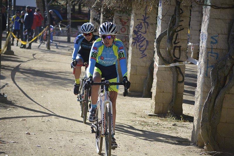 Ciclocross de El Escorial 2017 - Imagen de Carme Tomás - Cristina Arconada 2