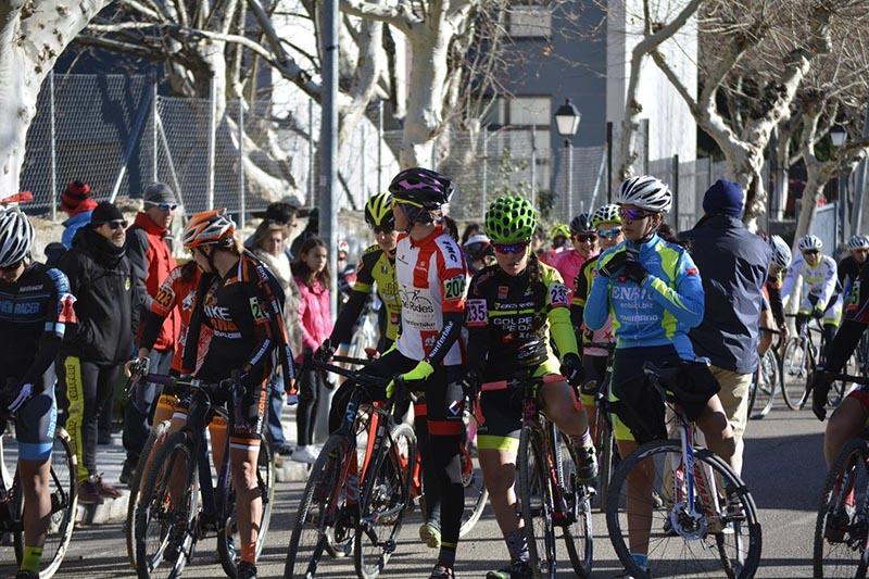 Ciclocross de El Escorial 2017 - Imagen de Carme Tomás - Cristina Arconada