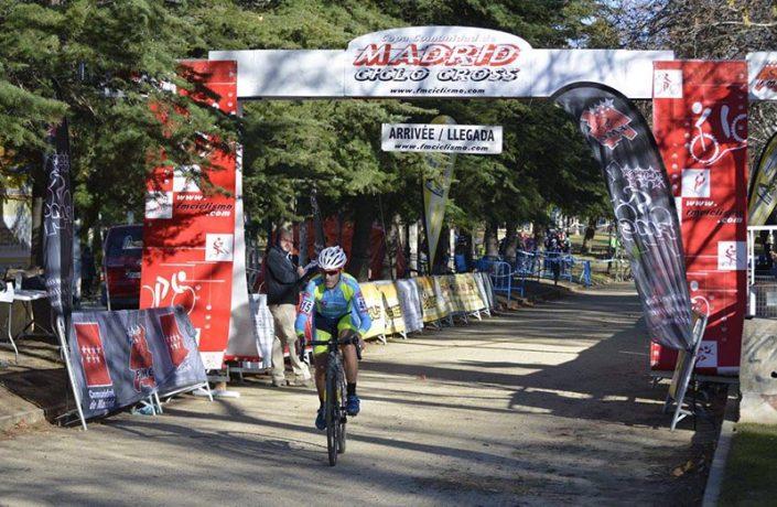 Ciclocross de El Escorial 2017 - Imagen de Carme Tomás - Oscar Moreno 4