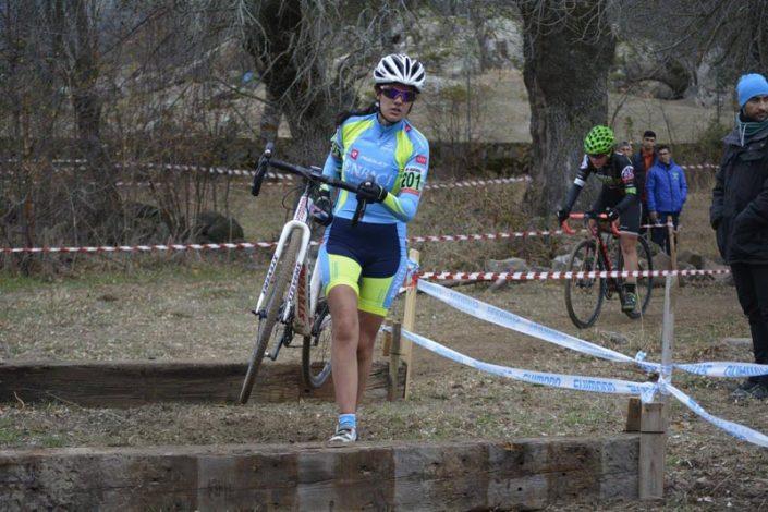 Ciclocross deNavalafuente 2017 - Cristina Arconada - Imagen de Carme Tomas
