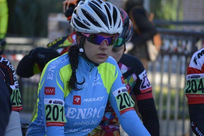 Cristina Arconada - EnBici - Ciclocross Alalpardo 2017 - Imagen Carme Tomás