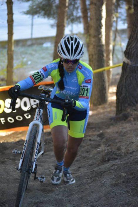 Cristina Arconada - EnBici - Ciclocross Coslada 2017 - Imagen Carme Tomás
