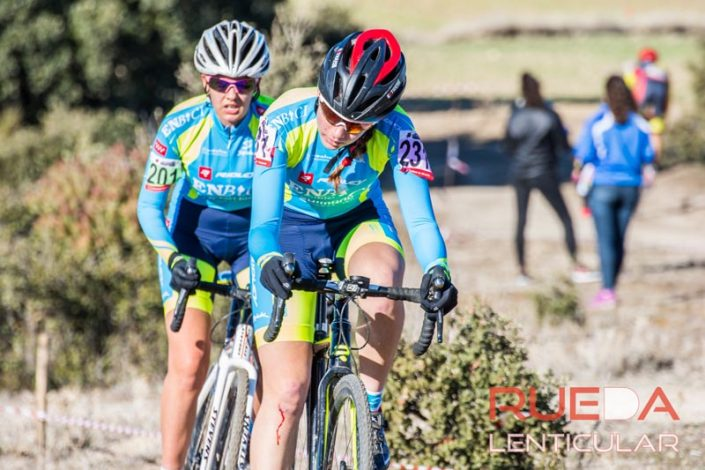Monica Varas y Cristina Arconada - EnBici - Ciclocross de Brunete 2017