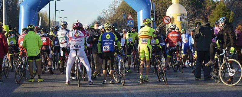 Salida - EnBici - Ciclocross Coslada 2017 - Imagen Carme Tomás