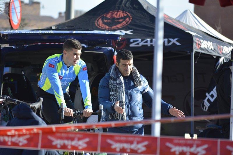 Victor Aguado - EnBici - Ciclocross Coslada 2017 - Imagen Carme Tomás