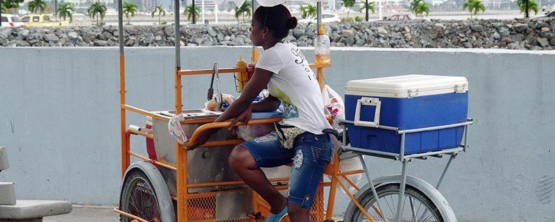 Comer sobre la bici