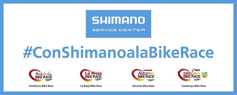 Con Shimano a la Bike Race