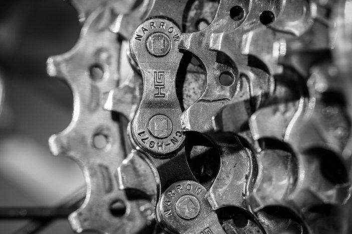 Cómo limpiar la transmisión de la bicicleta