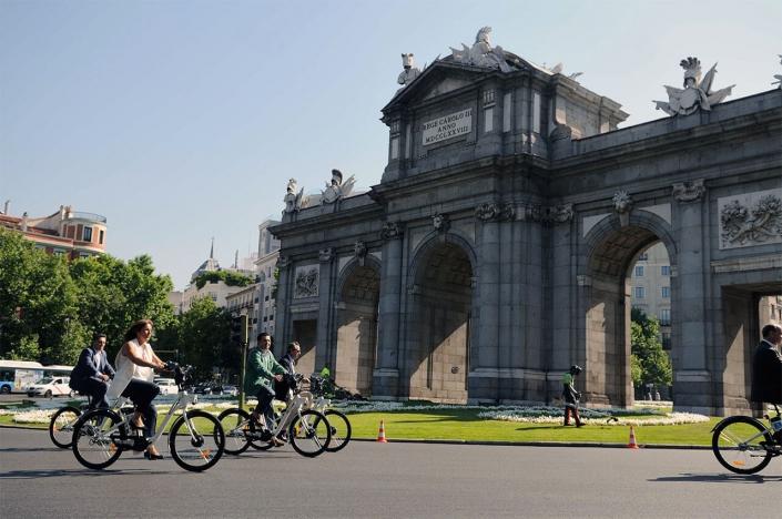 Rutas para hacer en Bici por Madrid