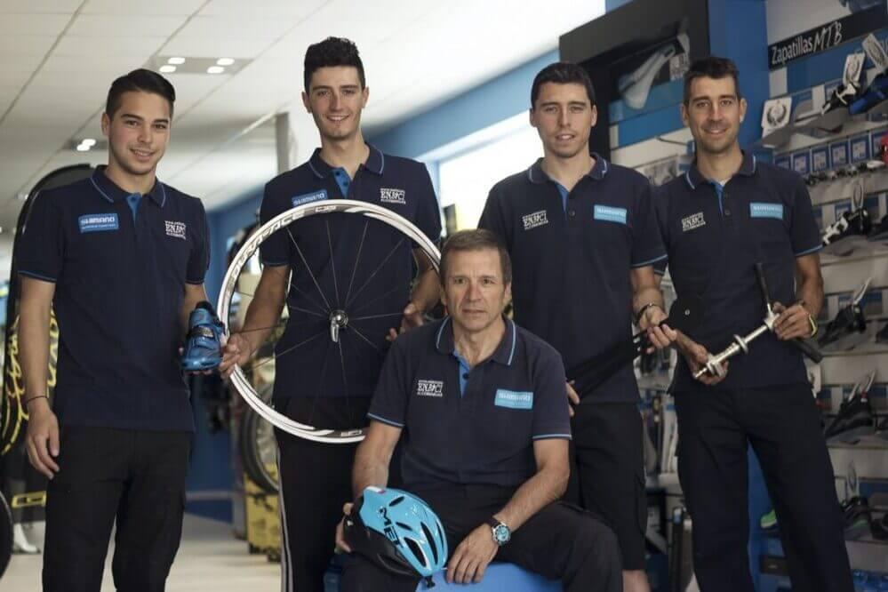 equipo en bici alcobendas